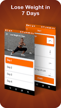 Lose weight in 7 days: Happy fitness plan pc screenshot 1