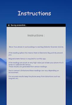 Bug Finder : Device Detector & Spy Detector pc screenshot 1