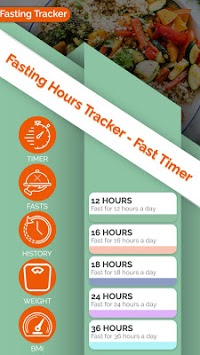 Fasting Hours Tracker - Fast Timer pc screenshot 1