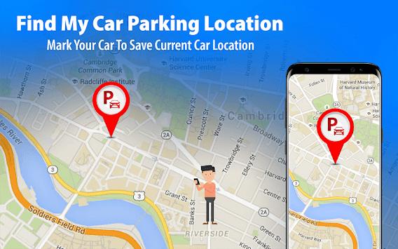 GPS Navigation: Live Map Alarm & Find Car Parking pc screenshot 2