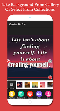 quotes on my pic & quotes app pc screenshot 1