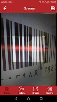 QR Code Reader & Barcode PRO pc screenshot 1