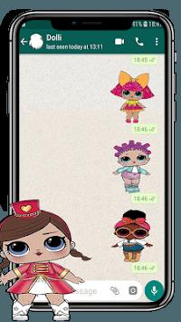 Lol Dolls Stickers (WAStickersApps) pc screenshot 2