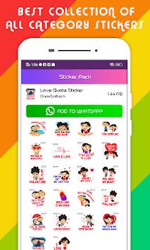 Stickers for WhatsApp - WAStickerApps pc screenshot 1