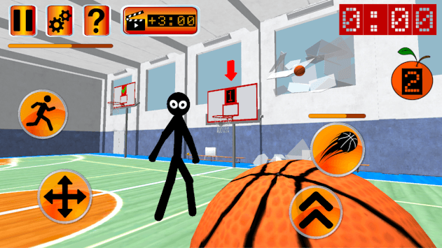 Stickman Teacher. Basketball Basics pc screenshot 1