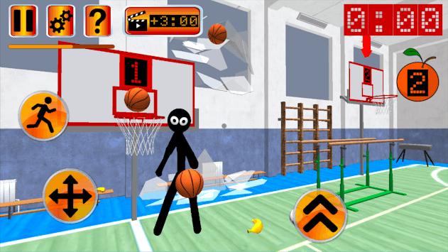 Stickman Teacher. Basketball Basics pc screenshot 2