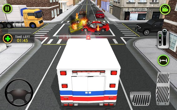 Ambulance Car Driving Simulator - Rescue Mission pc screenshot 1