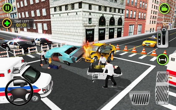 Ambulance Car Driving Simulator - Rescue Mission pc screenshot 2