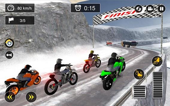 Snow Mountain Bike Racing 2019 - Motocross Race PC screenshot 1