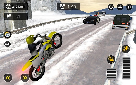 Snow Mountain Bike Racing 2019 - Motocross Race PC screenshot 2