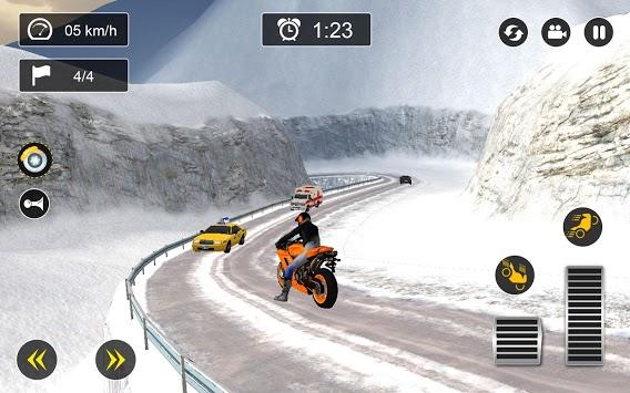 Snow Mountain Bike Racing 2019 - Motocross Race PC screenshot 3