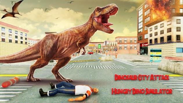 Dinosaur City Attack: Hungry Dino Simulator pc screenshot 1
