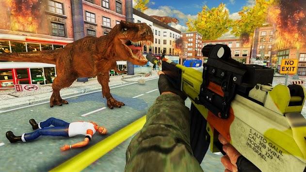 Dinosaur City Attack: Hungry Dino Simulator pc screenshot 2