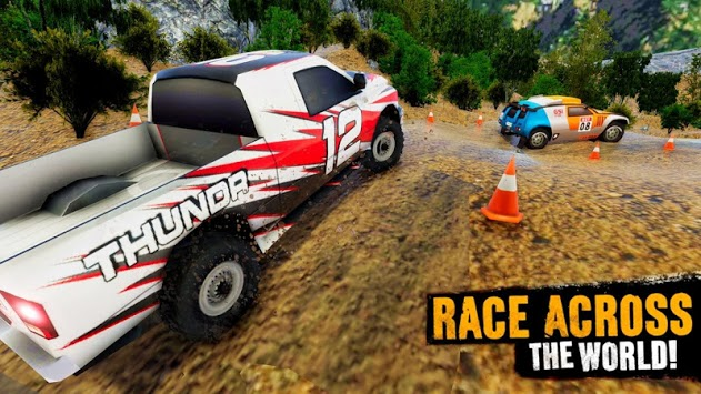 Impossible Offroad Jeep Rally Mountain Climb Race pc screenshot 1