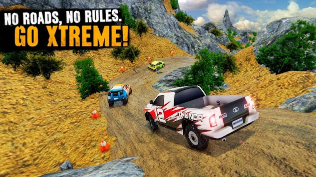 Impossible Offroad Jeep Rally Mountain Climb Race pc screenshot 2