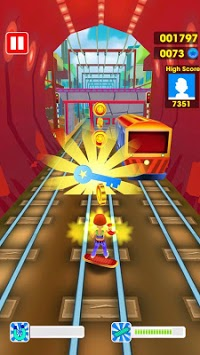 Subway Train Surfing 3D pc screenshot 1