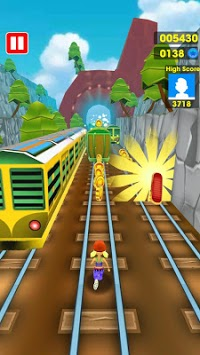 Subway Train Surfing 3D pc screenshot 2