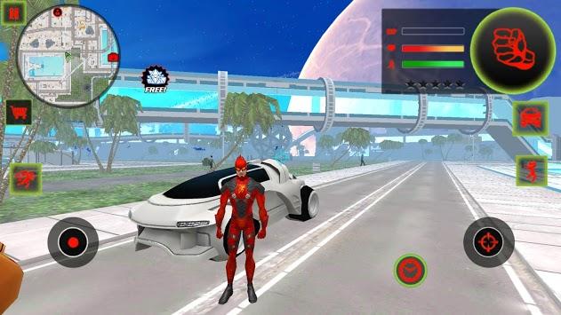 Flash Speed Hero:  Super Light Speed Hero City pc screenshot 1