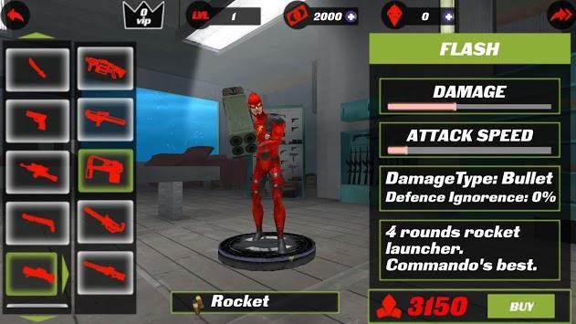 Flash Speed Hero:  Super Light Speed Hero City pc screenshot 2