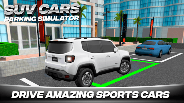 SUV Car Parking Simulator PC screenshot 1