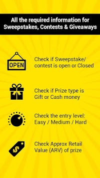 Win Real Prizes & Cash: Free Sweepstakes pc screenshot 1
