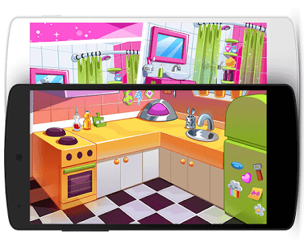 Sweet Baby Girl Clean House pc screenshot 2