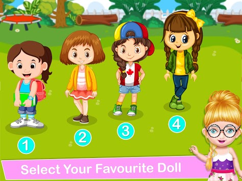 School Decorating Doll House Town My HomePlay Game pc screenshot 2