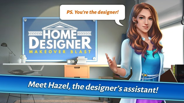 Home Designer - Match + Blast to Design a Makeover pc screenshot 1
