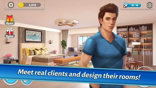 Home Designer - Match + Blast to Design a Makeover pc screenshot 2