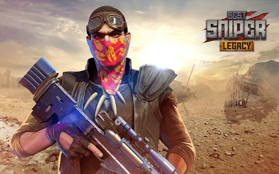 Best Sniper Legacy: Dino Hunt & Shooter 3D pc screenshot 1