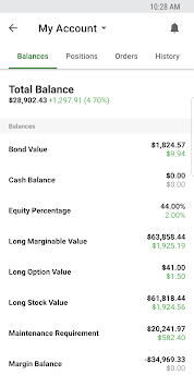 TD Ameritrade Mobile pc screenshot 1