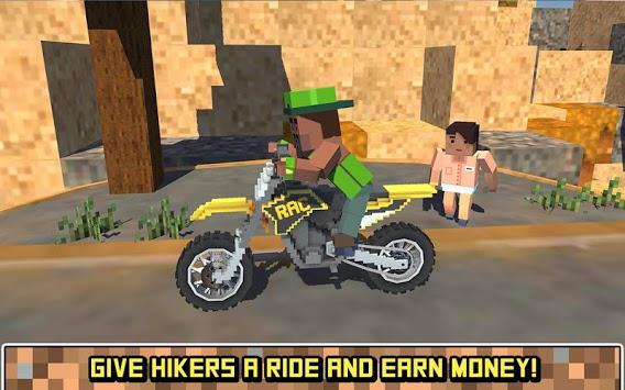 Blocky Moto Bike SIM: Summer Breeze pc screenshot 1