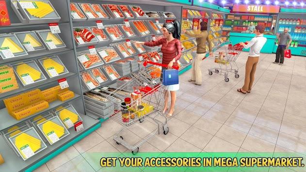 Shopping Mall Rush Taxi: City Driver Simulator PC screenshot 1