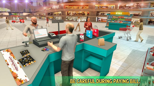 Shopping Mall Rush Taxi: City Driver Simulator PC screenshot 2