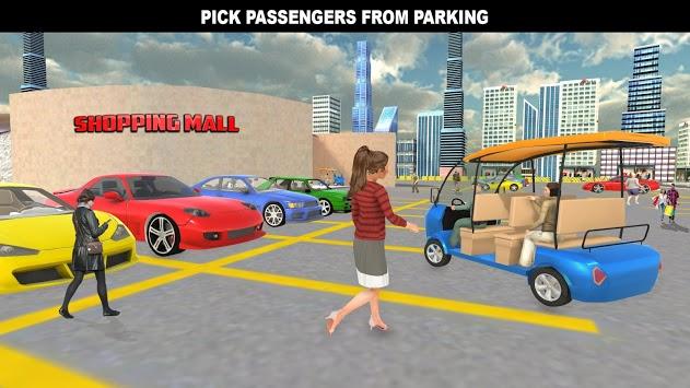Shopping Mall Rush Taxi: City Driver Simulator PC screenshot 3