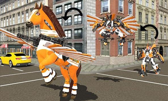 Real Robot Horse Battle:Wild Horse US Police Robot pc screenshot 1