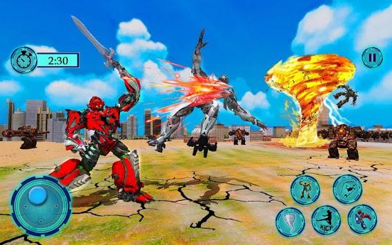Immortal Superhero Tornado Robot City Rescue 2019 pc screenshot 1