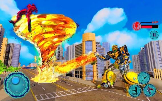 Immortal Superhero Tornado Robot City Rescue 2019 pc screenshot 2