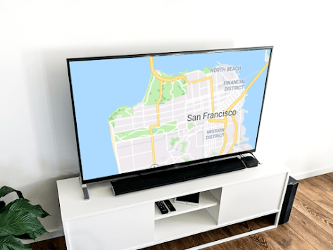 Maps on Chromecast pc screenshot 1