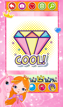 Diamond Coloring & Drawing for kids pc screenshot 1
