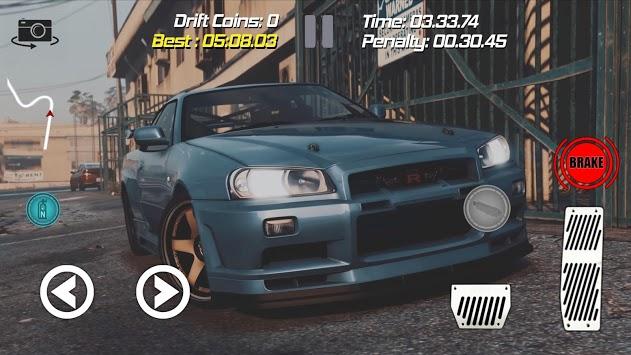 Drift Racing Nissan Skyline Simulator Game pc screenshot 1