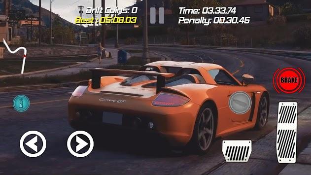 Drift Racing Porsche Carrera GT 980 Simulator Game pc screenshot 1