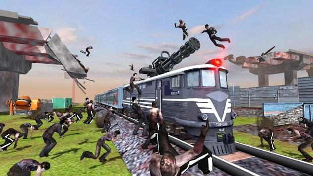 Train shooting - Zombie War pc screenshot 2
