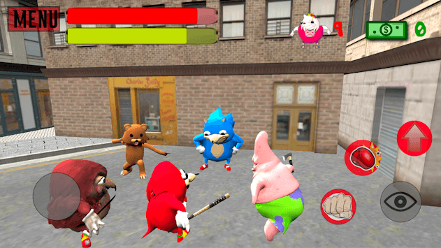 Ugandan Simulator. Knuckles Survival pc screenshot 2