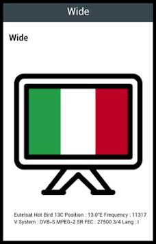 Italian TV Channels pc screenshot 1