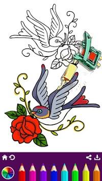 Tattoo Coloring Book pc screenshot 1
