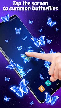 Live Wallpaper Magic Touch Butterfly pc screenshot 2
