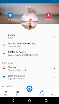 Tractive GPS Dog and Cat Finder pc screenshot 1