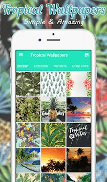 Tropical Wallpaper pc screenshot 1