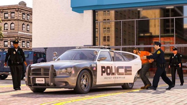 virtual police officer simulator: cops and robbers pc screenshot 1